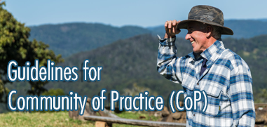 Guidelines for Community of Practice