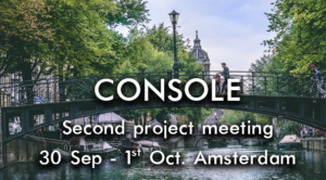 Second project meeting