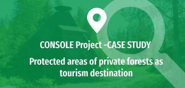 Protected areas of private forests as tourism destination