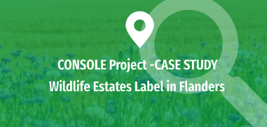 Wildlife Estates Label in Flanders