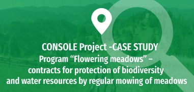 """Program """"Flowering meadows"""" - contracts for protection of biodiversity and water resources by regular mowing of meadows"""